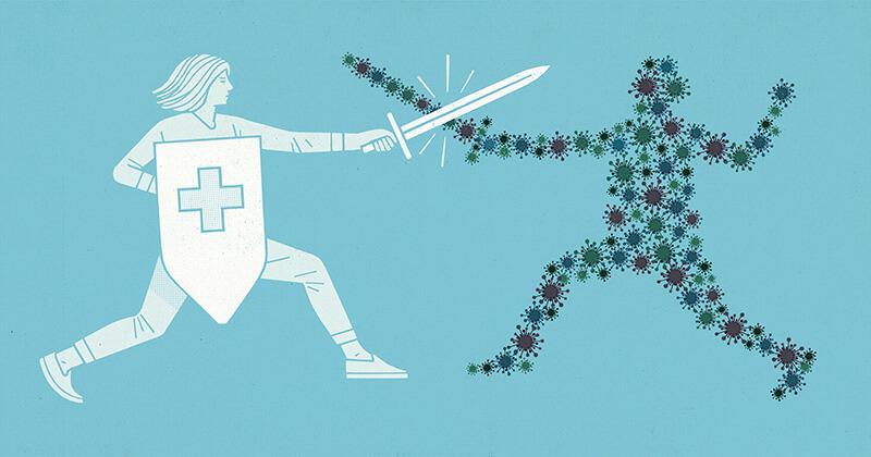 5 yếu tố quyết định hệ miễn dịch khỏe mạnh