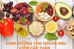 Chế độ dinh dưỡng cho người bị viêm cầu thận