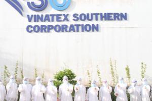 Bạc Liêu: Tiêm ngừa vắc-xin COVID-19 ngoại viện tại nhà máy may VINATEX