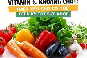 Tăng sức đề kháng bằng vitamin và khoáng chất   Phòng chống dịch Covid-19