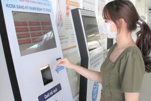 Chính thức đưa dự án thanh toán viện phí trực tuyến bằng thẻ khám bệnh thông minh đi vào hoạt động