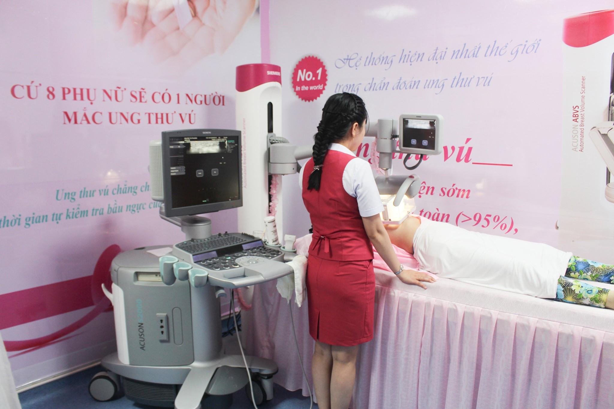 Cơ hội tầm soát ung thư tuyến vú với Combo Dịch vụ 3 IN 1 chỉ với 1 triệu đồng